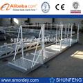 Marina de aluminio del muelle de escalera