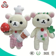EN71 standard custom stuffing plush nurse bear toy factory direct sale