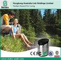 2014 quente de metal portátil bluetooth speaker dust cap