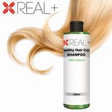 REAL+ natural hair tonic shampoo brands 2014 best herbal shampoo 330ml