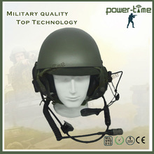 DH-132 kevlar military safety helmet with noise cancelling mic PTE-747