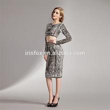 unique model leopard printed latest indian dress design patterns for women