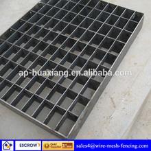 high quality steel grating platform grating steps (ISO 9001 factory)
