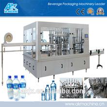 Auto 3-in-1 bottle pure water or liquid water bottle filling machine/line