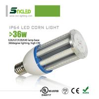 hot vagina images energy saving 36W dustproof led corn lights bulb highway lamp post sealant