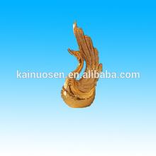 golden decorativos para el hogar cisnes de cerámica