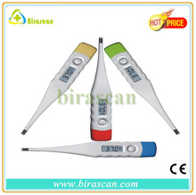 2014 Green flexible digital electronic thermometer with cheap factory price
