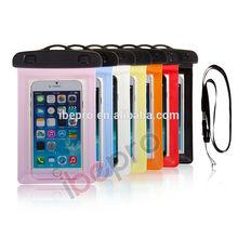 For iphone 6 PVC Waterproof phone bag