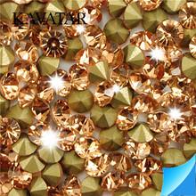 Color brilliancy crystal rhinestone shiny