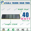 40w portable solar panel charger for laptops