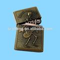Usb de bronce más ligero / latón antiguo encendedor desechable