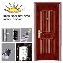 Intime Steel Security exterior metal door SC-S070