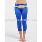 90% polyester 10% spandex custom dri fit wholesale yoga women pants