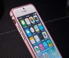 2014 New Collection For iPhone 6 6G 4.7 inch Premium Ultra Thin Slim Arc Metal Aluminium Bumper Case Hot Selling Luxury Design
