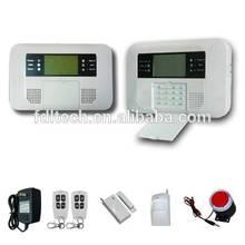 40Zones LCD Display PSTN and GSM Dual Network Quad Band Wireless Home Security Burglar Burglar Intruder Alert Alarm Syst FDL-40B