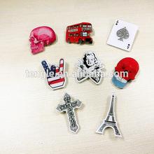 plastic skull badges for Halloween