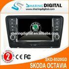 SKODA Octavia Car GPS with windows CE 6.0 navigation systems