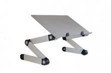 Small folding manual height excellent laptop desk