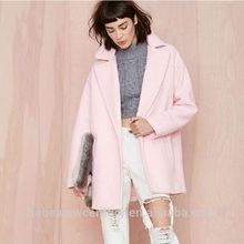 2014 Women Coat Large Wind Profile Easing Blended Woollen Long Retro Rotator Cuff Big Coat
