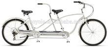 26 inch Alloy frame V brake adult Tandem bike SY-TD2611