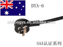 australia Rubber cable extension power cord for lemon squeezer