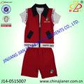 Custom made 100% algodão verão frete grátis roupa do bebê made in china