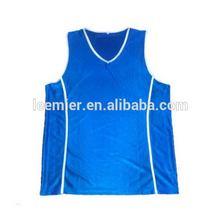 Fashionable antique v-neck basketball practice jersey short