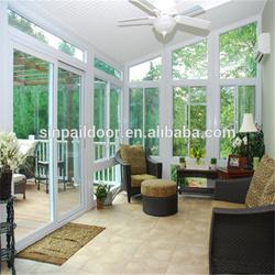 Energy-saving garden house aluminum sunrooms
