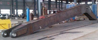 hitachi excavator long reach boom and arm