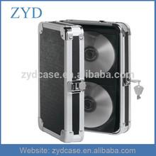 High Grade 48 CD DVD Capacity Aluminium Thick DVD Case ZYD-HZMdc006