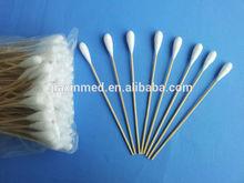 medical bamboo stick cotton swab