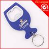 Plastic Vinyl Coating Key Chain Bottle Opener