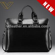 Hot sale men's hobo bag genuine leather handbag