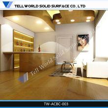 Acrylic solid surface custom home wine bar furniture set