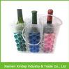Plastic Wine Bottle Cooler Bags Wine Ice Bag