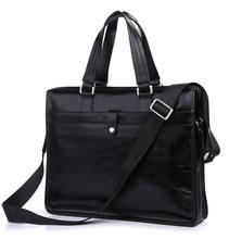 7181A Business Briefcase Shoulder Messenger Bag Genuine Leather Handbags Men