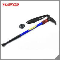 new brand 4 shaft T grip aluminum alloy anti shock elderly walking stick