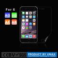 9 anos marca vmax ultra fino celular para iphone6 plus anti-reflexo protetor de tela