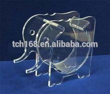 elephant shape clear acrylic fish tank/pmma aquarium/lucite fish bowl