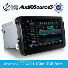 gps tracker for car multimedia system with GPS navigation for VW Jetta golf seat skoda 100% capacitive touch screen