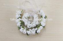 bridal wedding floral hoop
