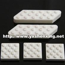 High wear resistance insulating ceramic lagging for conveyor system