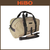 custom canvas and leather Sports Duffle Bag With Shoe Compartment men manufacturers Guangzhou China