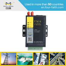 F7414 track monitoring system industrial modem 3G gps modem support several work modes m