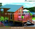 imputrescível de madeira casas jardim