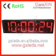 Large remote control timer/led wall display board/Hall use digital clock