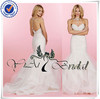 WD008 Sexy White Mermaid Wedding Dress Patterns