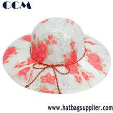Promotional Cheap Girls Hat Children Straw Beach Hats