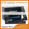 Nova arrivel! Openbox hd v8s suporte web tv e key biss dvb-s2 pvr receptor de satélite