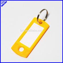 Hot-Sell cheap plastic blank keyrings
